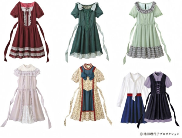 Rose of Versailles clothes