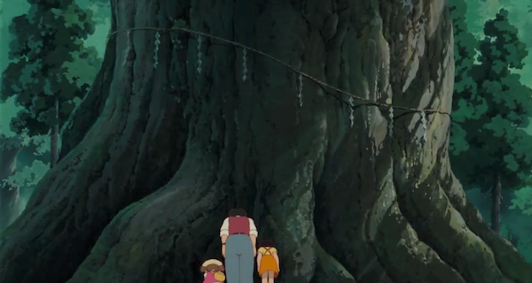 My Neighbor Totoro, sacred tree