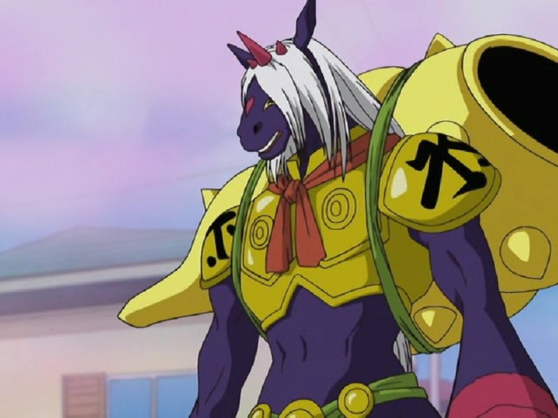 Indramon Digimon anime horse