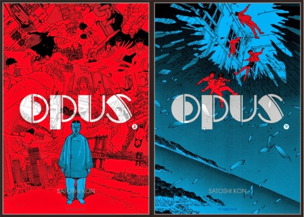 Opus Satoshi Kon manga