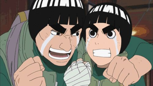 15 Anime Characters with Big Eyebrows - Rock Lee - Might Guy - Naruto