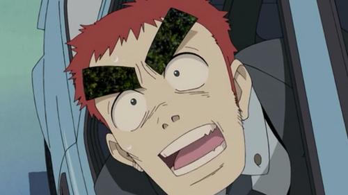 15 Anime Characters with Big Eyebrows - Amarao - FLCL