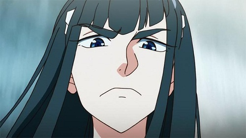 15 Anime Characters with Big Eyebrows - Satsuki Kiryuin – Kill la Kill