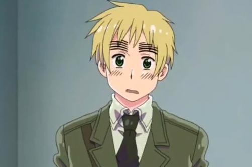15 Anime Characters with Big Eyebrows - England - Hetalia