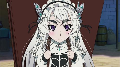 15 Anime Characters with Big Eyebrows - Chaika Trabant - Hitsugi no Chaika