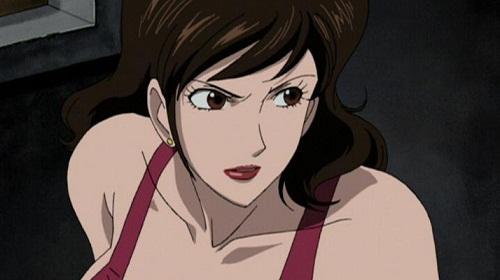 15 Sexy and Dangerous Femme Fatale Anime Characters - Fujiko Mine (Lupin III)