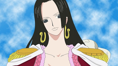 15 Sexy and Dangerous Femme Fatale Anime Characters - Boa Hancock (One Piece)