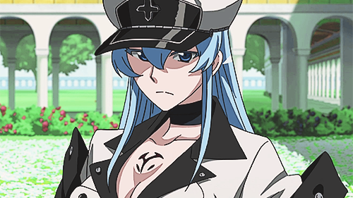 15 Sexy and Dangerous Femme Fatale Anime Characters - Esdeath (Akame ga Kill)