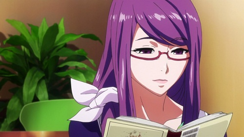 15 Sexy and Dangerous Femme Fatale Anime Characters - Rize Kamishiro (Tokyo Ghoul)