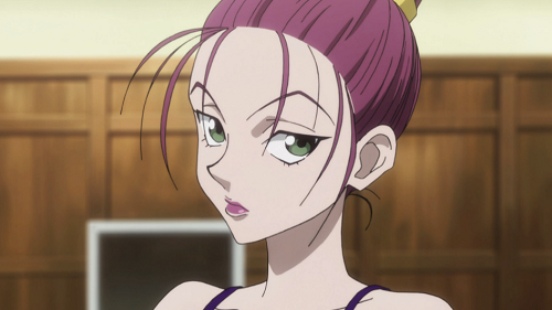 15 Sexy and Dangerous Femme Fatale Anime Characters - Baise (Hunter x Hunter 2011)