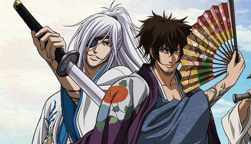 Brave 10 Samurai Anime