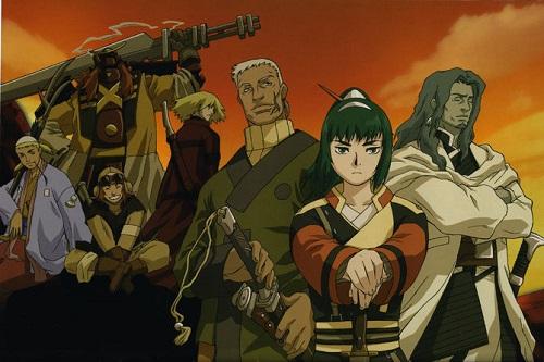 Samurai 7 Samurai Anime
