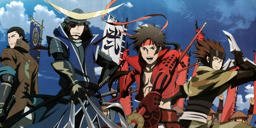 Sengoku Basara Samurai Anime