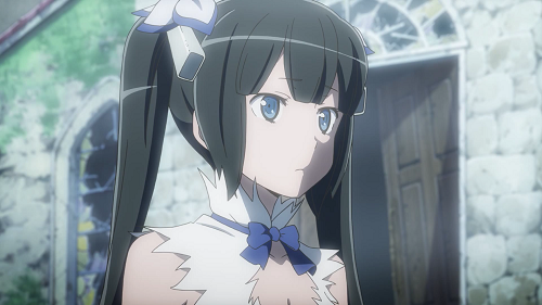 Hestia Anime Goddess