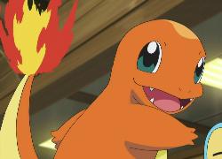 charmander pokemon, fire user