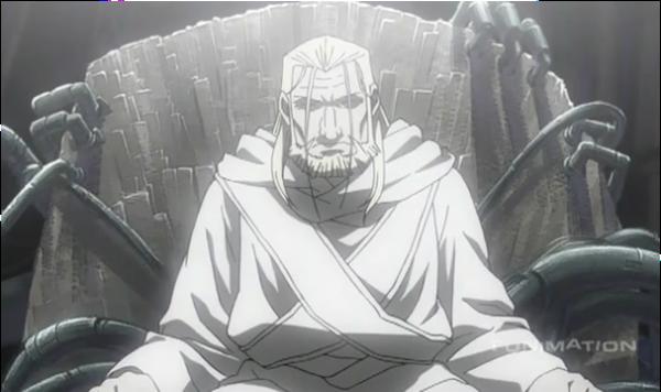 Fullmetal Alchemist: Brotherhoo_Homunculous