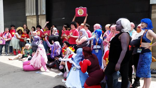 Steven Universe cosplay group