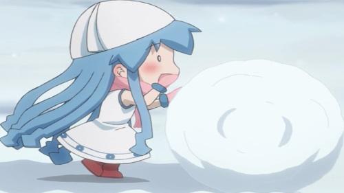 Shinryaku! Ika Musume Ika Musume - Playing in the Snow