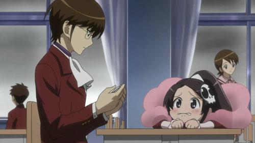 [Kami nomi zo Shiru Sekai (The World God Only Knows)] Elsie, Keima - Classroom Chibi Anime