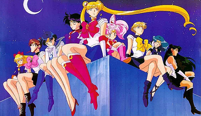 Sailor Moon Vintage Art Rinkya