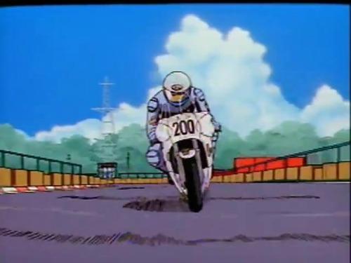 Racing Anime Bakusou Circuit Roman Twin