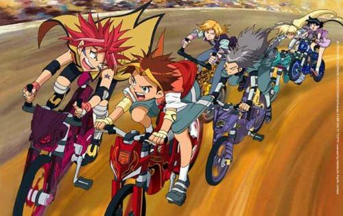 Racing Anime Idaten Jump