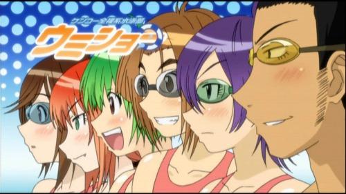 Racing Anime Kenkou Zenrakei Suieibu Umishou