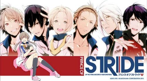 Racing Anime Prince of Stride Alternative