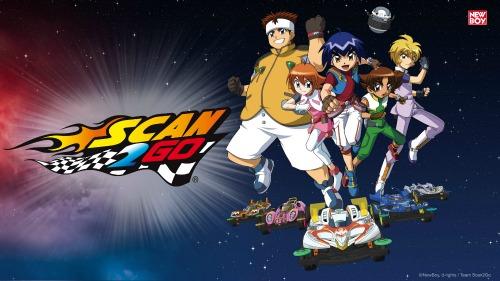 Racing Anime Scan2Go