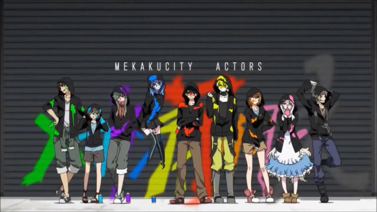 Vocaloid - MekakuCity Actors