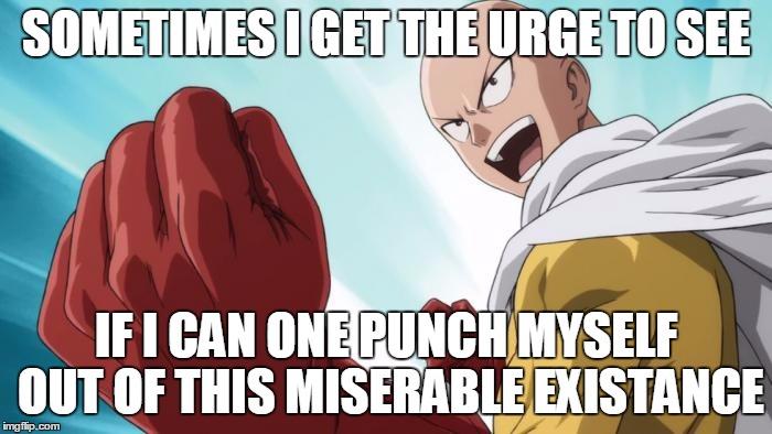 one punch man meme