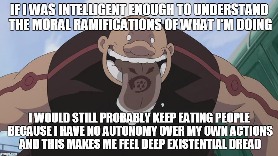 gluttony fullmetal alchemist meme