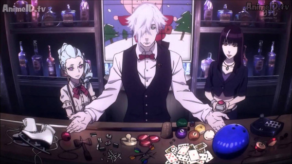 Decim Death Parade Best Psychological Anime