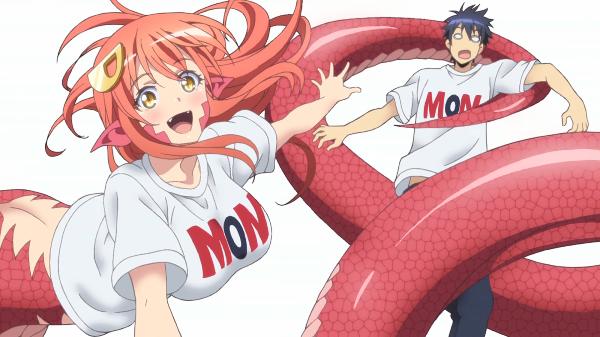 Monster Musume no Iru Nichijou_Miia Anime Demon Girl