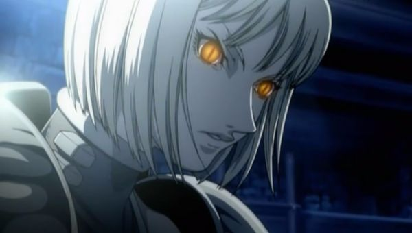 Claymore_Clare Anime Demon Girl