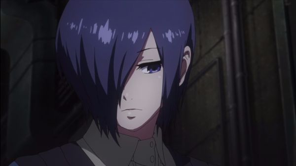 Tokyo Ghoul_Touka Kirishima Anime Demon Girl