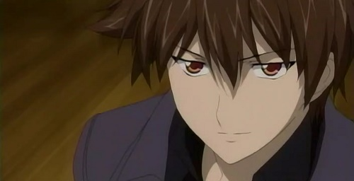 kazuma yagami hot brown haired anime man guy