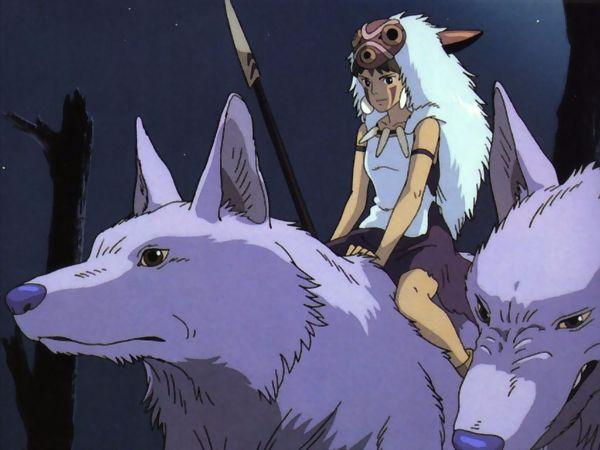 Mononoke Hime (Princess Mononoke) San, Moro Anime Princess