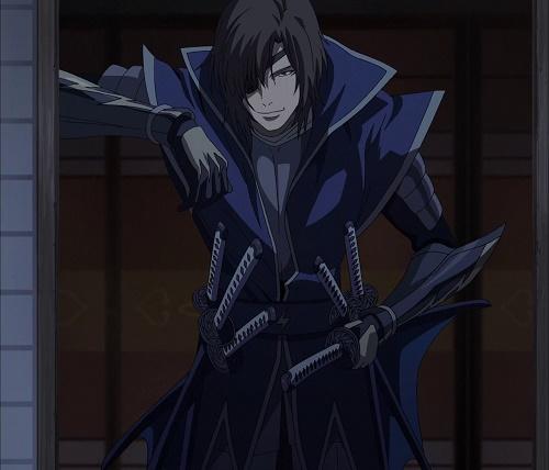 masamune date sengoku basara hot brown haired anime guy man