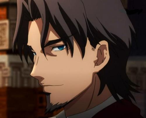 tokiomi tohsaka hot brown haired anime guy man