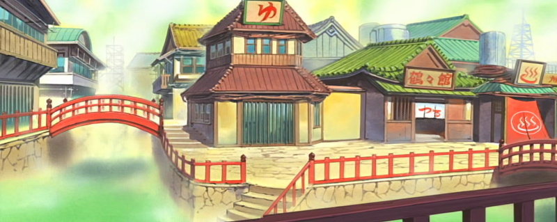 Naruto - Konoha Hot Springs