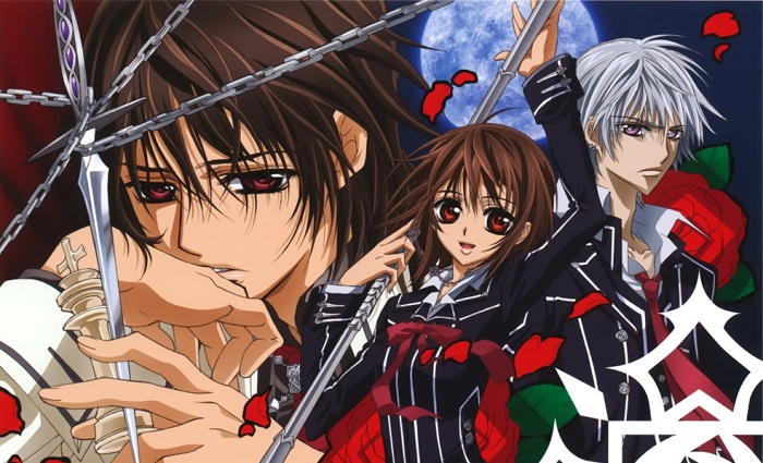 Top 15 Best Mystery Anime - Vampire Knight