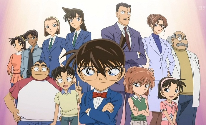 Top 15 Best Mystery Anime - Detective Conan
