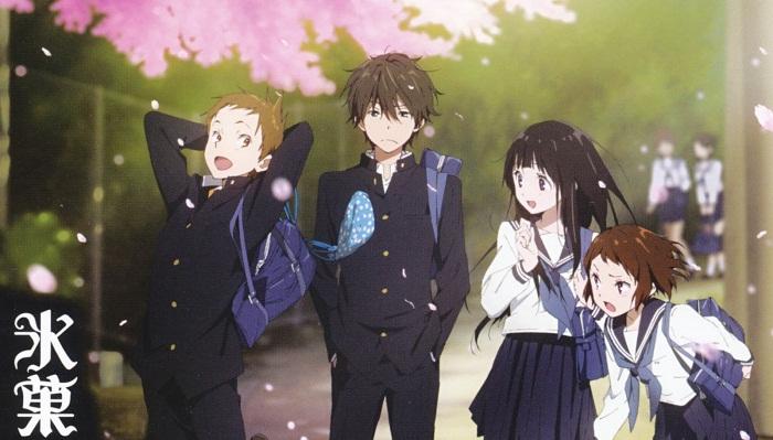 Top 15 Best Mystery Anime - Hyouka