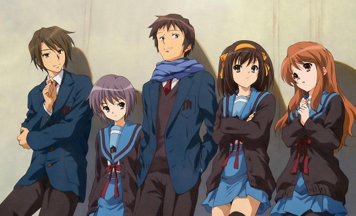 Top 15 Best Mystery Anime - Suzumiya Haruhi no Yuuutsu