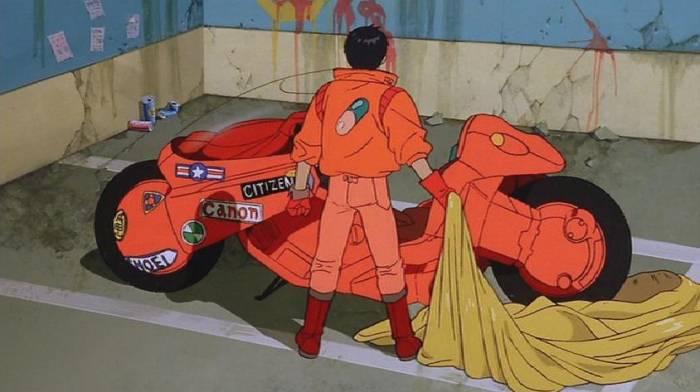 Motorbikes In Anime, Akira, Kaneda Shoutarou