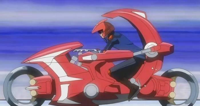 Motorbikes In Anime, Yu-Gi-Oh! 5D's, Yuusei Fudou