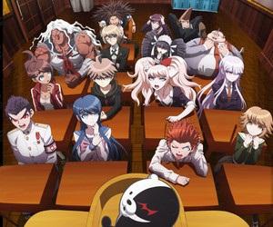 Top 15 Best Mystery Anime - Honorable Mention - Danganronpa: Kibou no Gakuen to Zetsubou no Koukousei The Animation