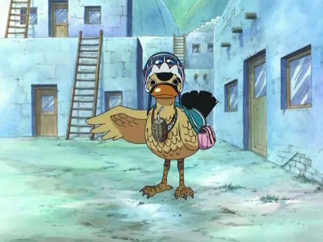 One Piece Carue anime bird