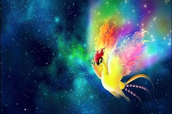 Phoenix anime bird